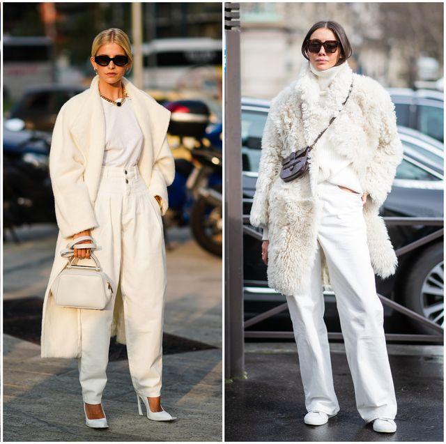 Cómo Vestir En Clave Total White Este Otoñoinvierno 2019 2020