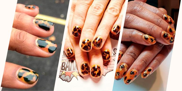 PSA: Tortoiseshell nails are the next big mani trend for 2019