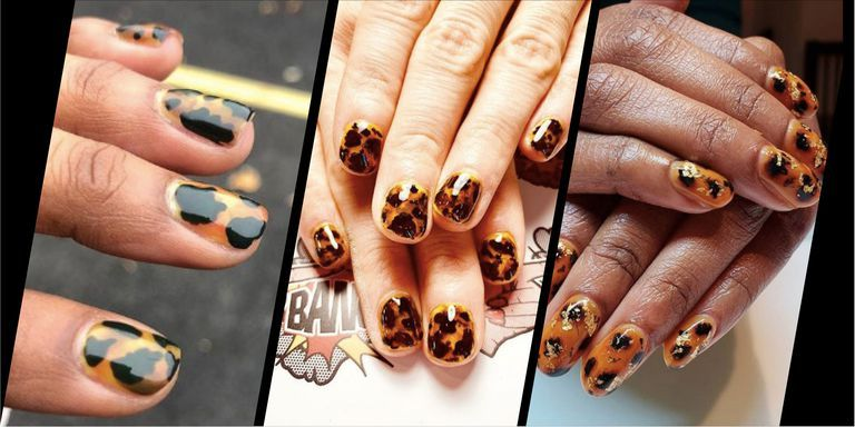 Tortoiseshell nails are the chicest new nail art trend