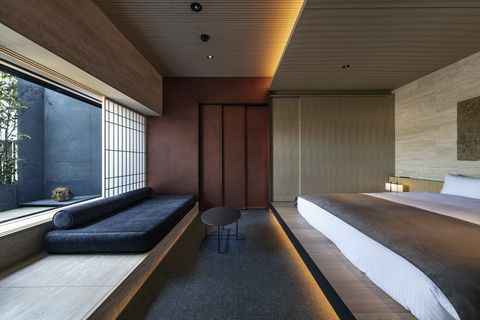 京都 ホテル 旅館 宿 建築 おしゃれ デザイナーズホテル 建築家 インテリア デザイン