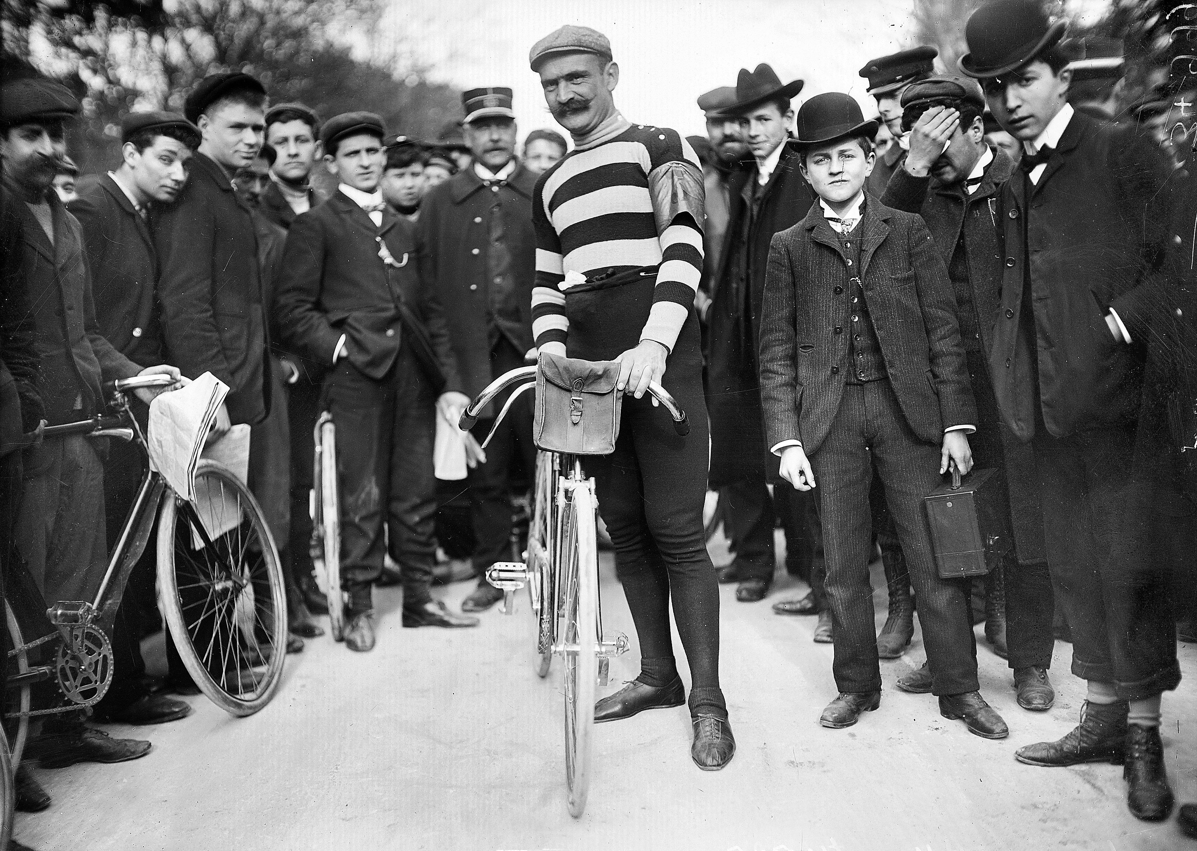 Tour de France 1905. Hippolyte Aucouturier, second