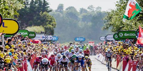 Stage 1 of the Tour de France.