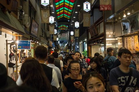 Tourism Boom In Kyoto
