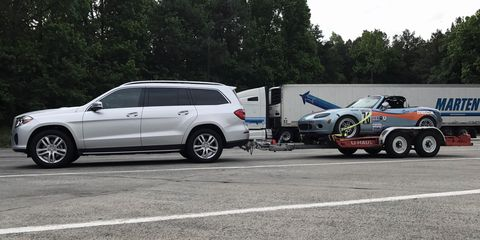 The Mercedes Benz Gls450 Is A Shockingly Capable Tow Vehicle