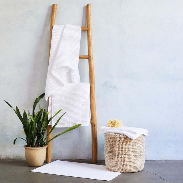 brooklinen waffle towels