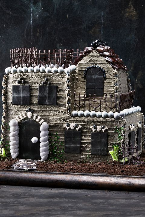 best halloween cake recipe haunted house halloween treats