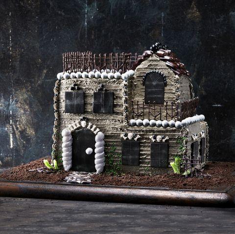 best halloween cake recipe haunted house halloween treats