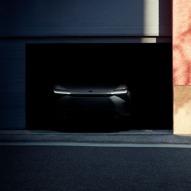 toyota bz electric crossover teaser