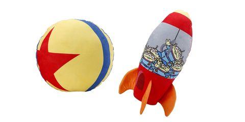 hola迪士尼系列toy story造型抱枕 星球火箭