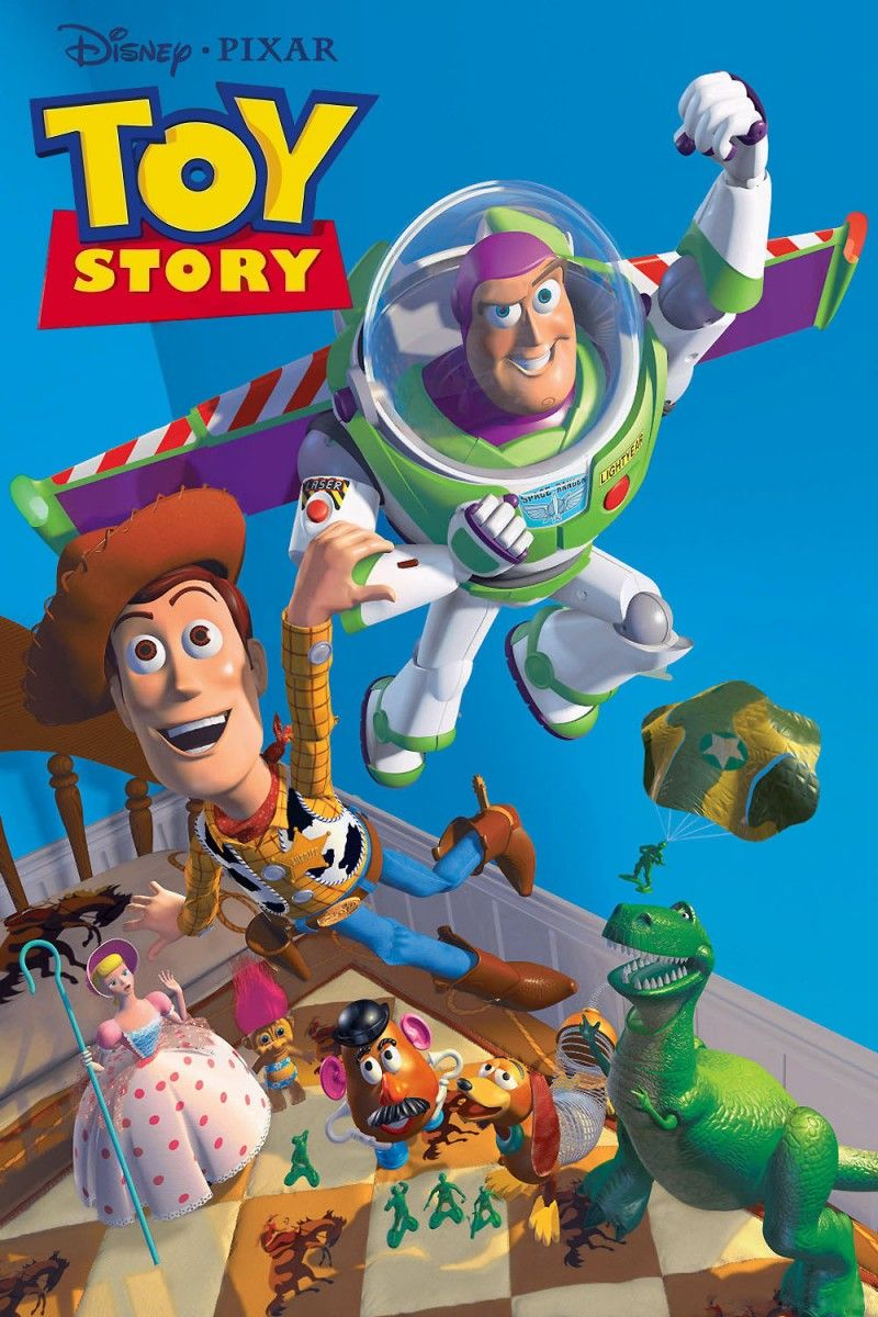 Toy Story (1995) The first-ever full-length Pixar tale changed the game for animated movies. The film, which told the story of what toys do when we leave the room (spoiler: come to life and exist in their own complex society), was groundbreaking and spawned several sequels, the latest of which is due out in 2019.
