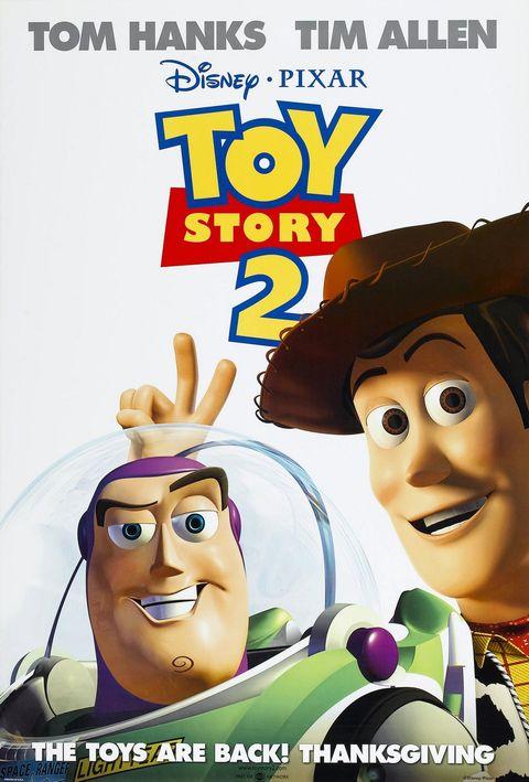 Toy Story 2 Movie Poster - Best Pixar Movies Ranked