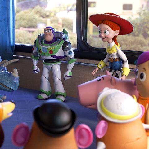 Rex, Buzz Lightyear, Jessie, Toy Story 4