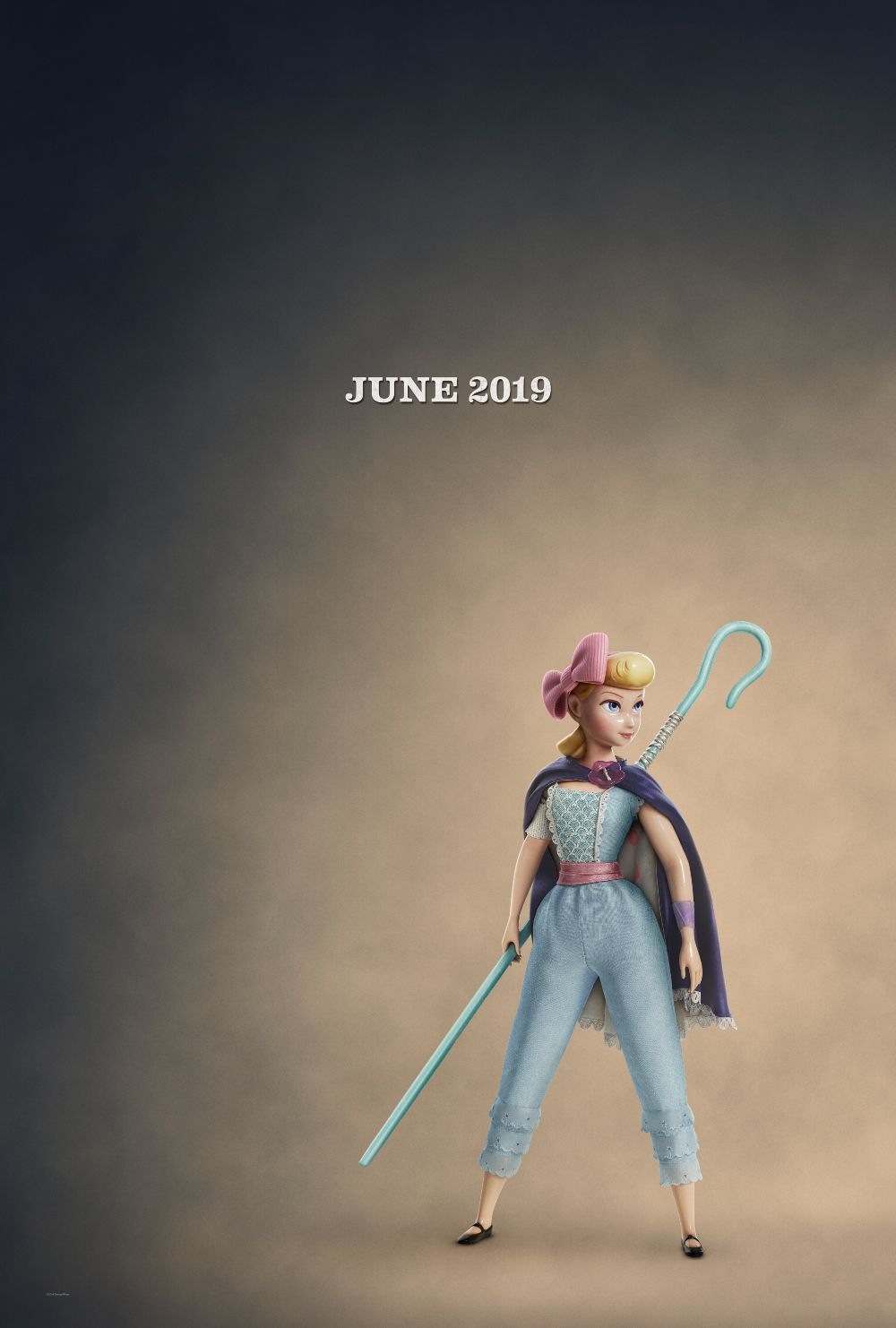 Toy Story 4 póster sinopsis Bo Peep - Betty Toy Story 4 cartel argumento 1b61b8fd289