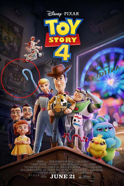 poster toy story 4 easter egg
