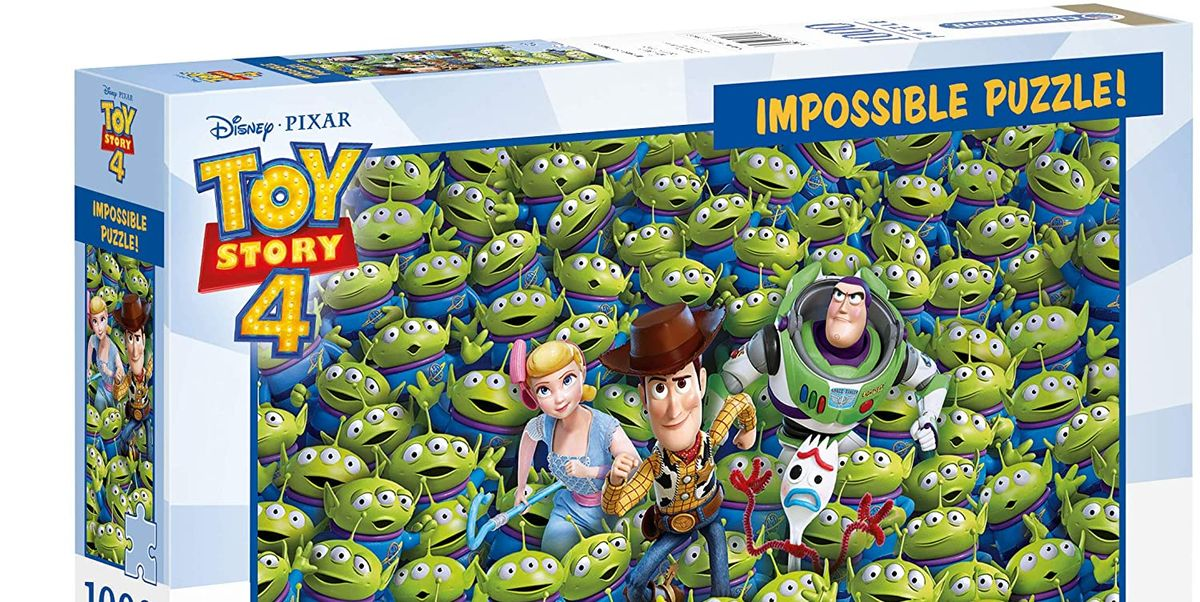 This Toy Story 4 jigsaw puzzle is reduced by over 40% right now