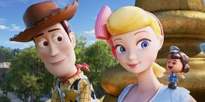 Woody, Little Bo Peep, Toy Story 4