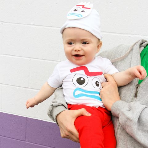 baby halloween costumes, forky infant halloween costumes
