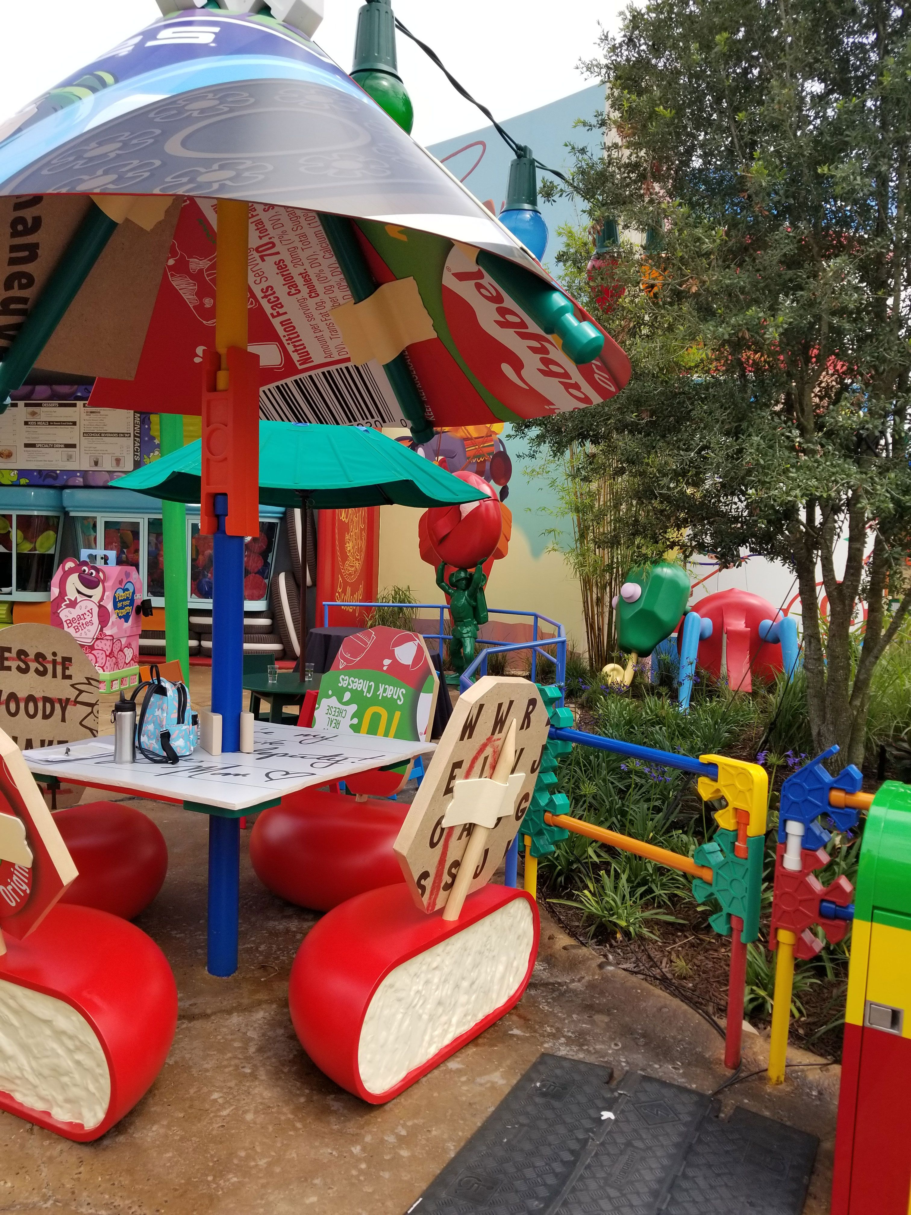 Inside Woody's Lunch Box at Toy Story Land, Open at Disney ...