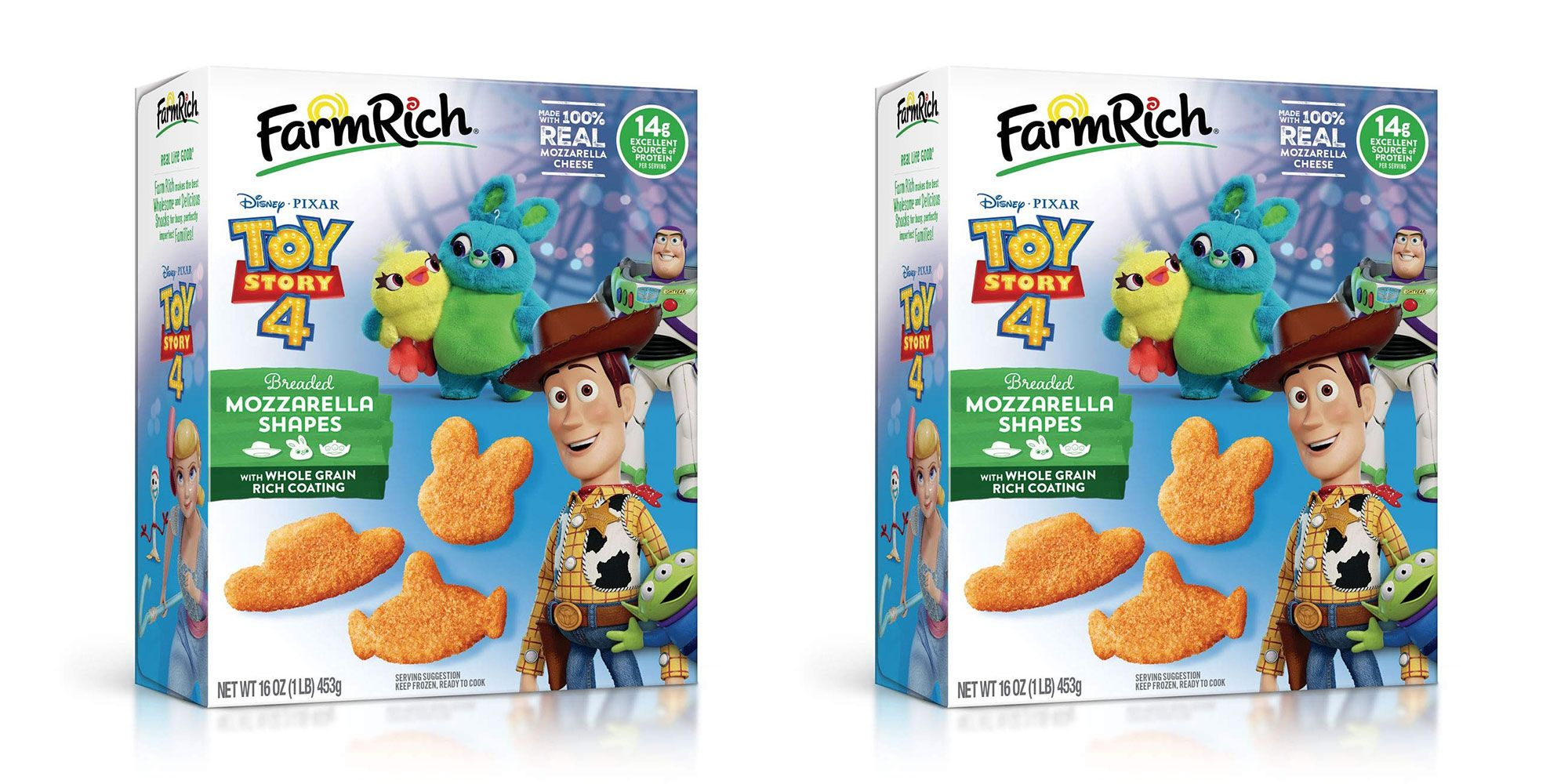 You Can Now Buy 'Toy Story'-Shaped Mozzarella Sticks