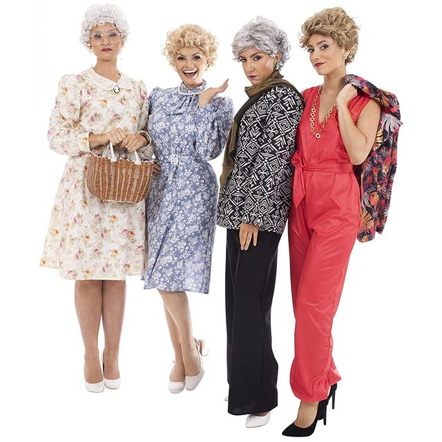 toynk the golden girls dorothy rose blanche rose halloween costumes