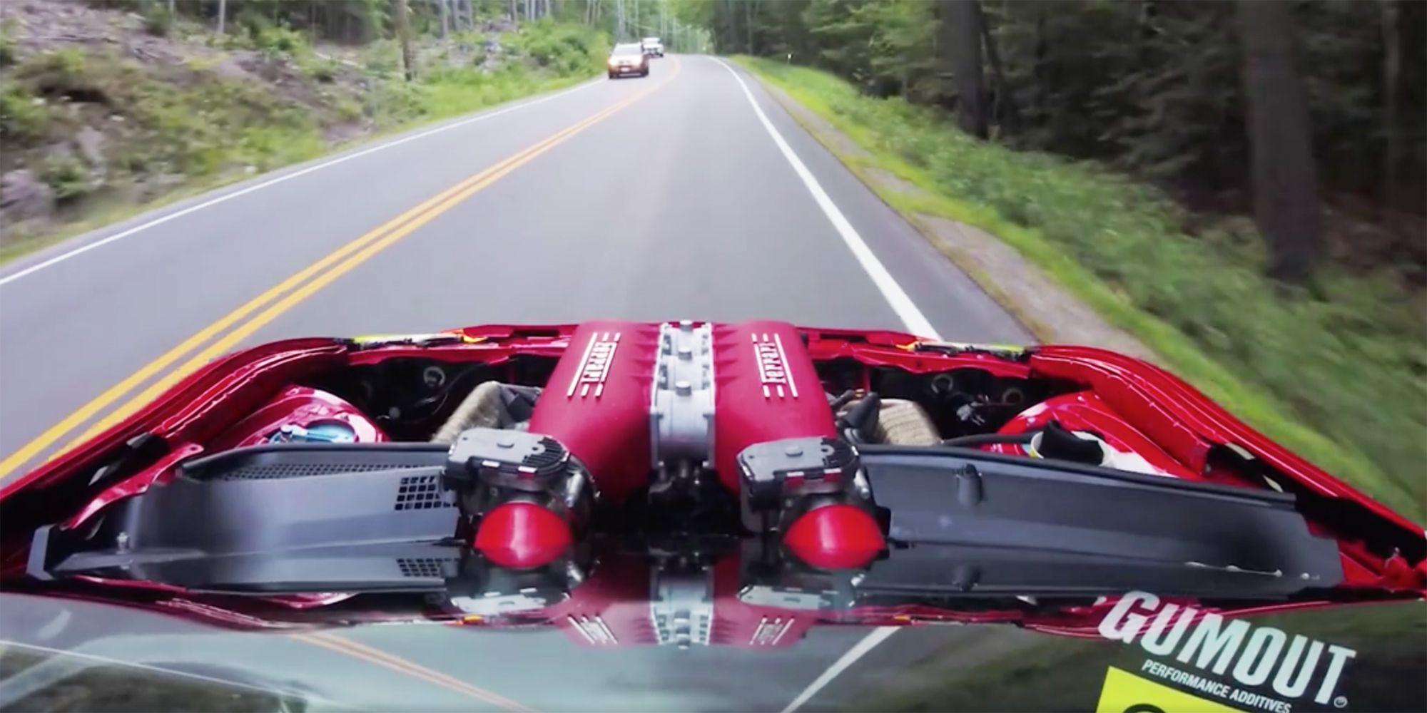 That Ferrari 458 Powered Toyota 86 Is A Ridiculous Street Car