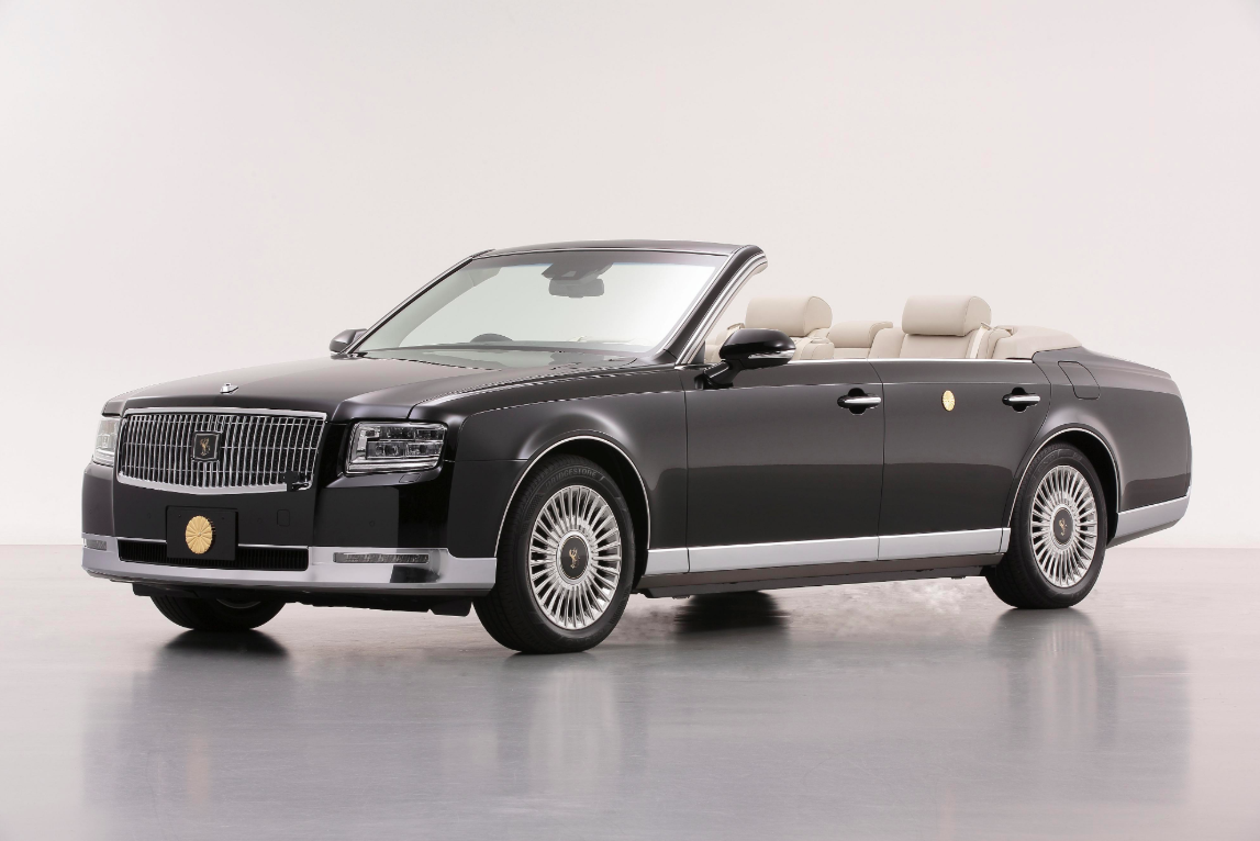 Japan's New Emperor Is Getting a Convertible Toyota Century