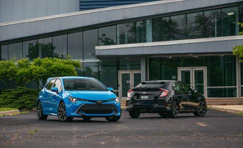 Toyota Corolla Vs Honda Civic >> 2019 Honda Civic Vs 2019 Toyota Corolla Which Is The