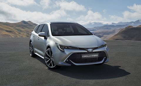 New Toyota Corolla Wagon Looks Good Touring Sports