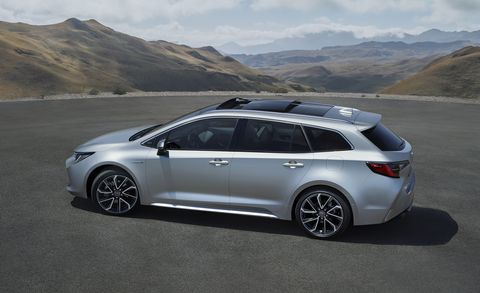 New Toyota Corolla Wagon Looks Good Touring Sports Revealed For Europe
