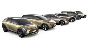 Toyota EV concepts for 2020 and beyond