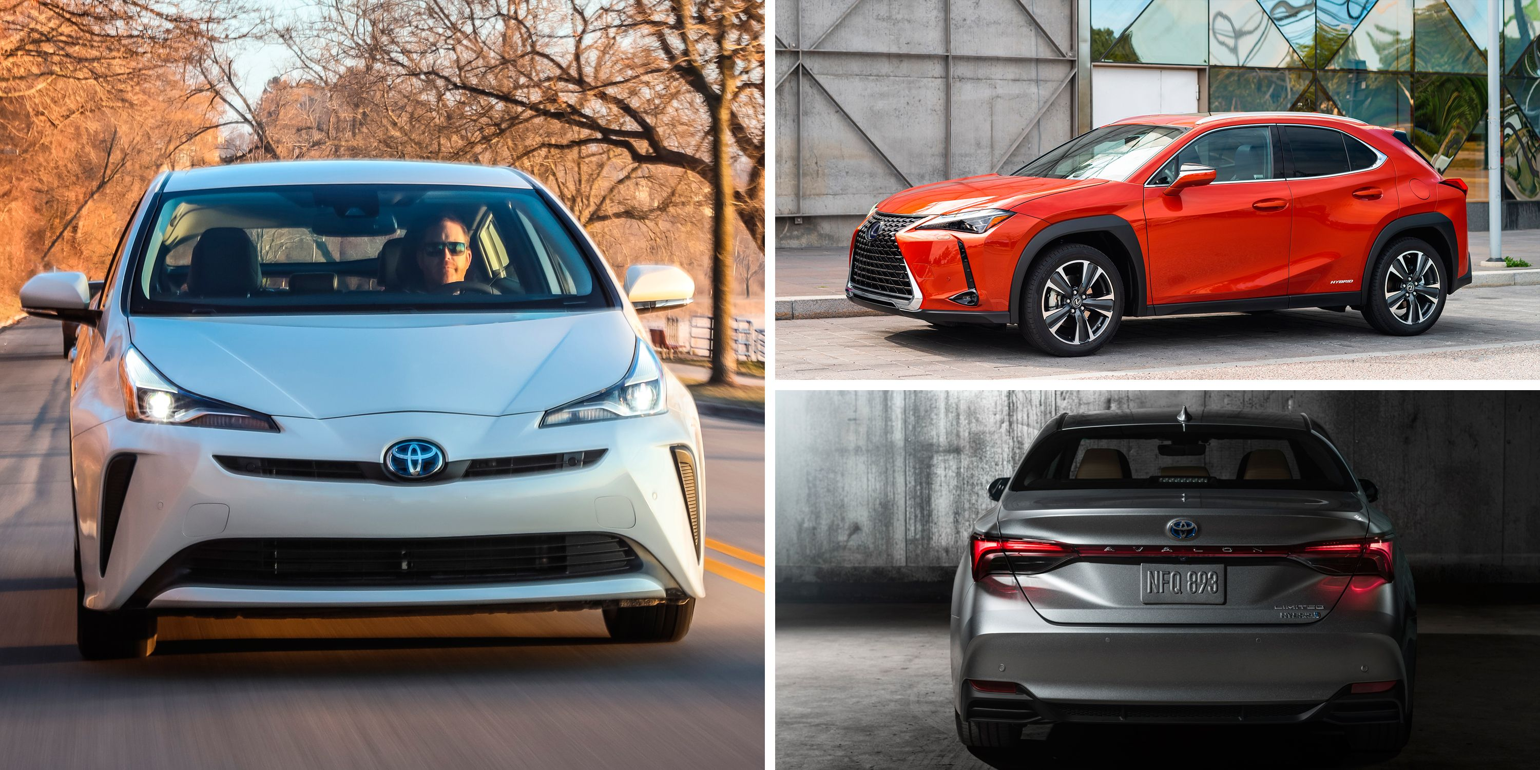Every hybrid car and suv that toyota builds