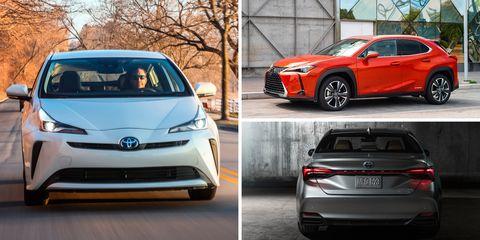 Toyota And Lexus Hybrid Models Car Driver