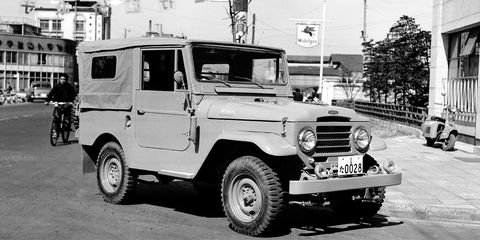toyota jeep bj early origins of toyota land cruiser