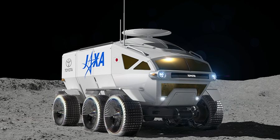 Toyota's Hydrogen SUV Will Let Astronauts Drive on the Moon in Maybe 10 Years