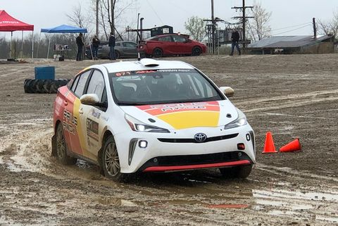 toyota prius rally car