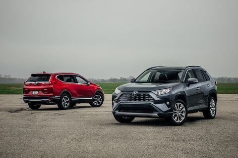 2019 Honda Cr V Vs 2019 Toyota Rav4 Which Compact Suv Is Best