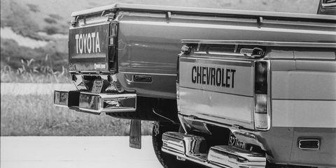 1979 toyota 4wd pickup, 1979 chevrolet luv pickup