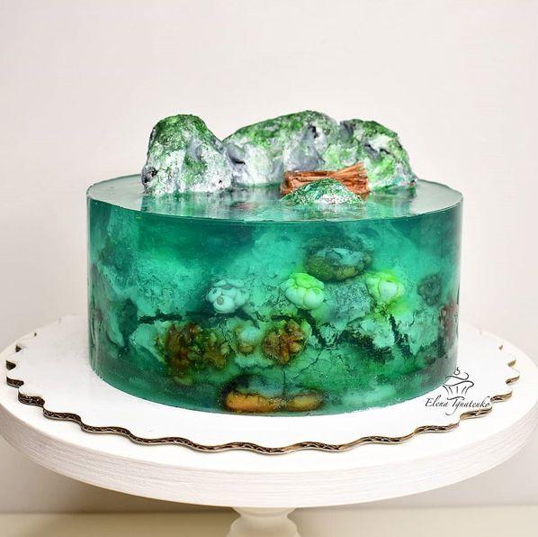 アイランドゼリーケーキ