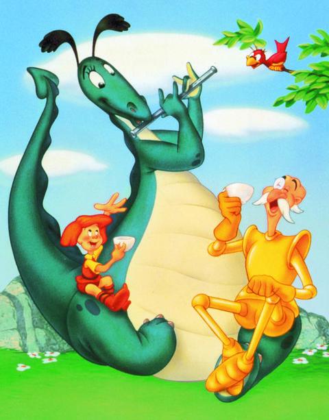 """""""el dragón chiflado"""""""