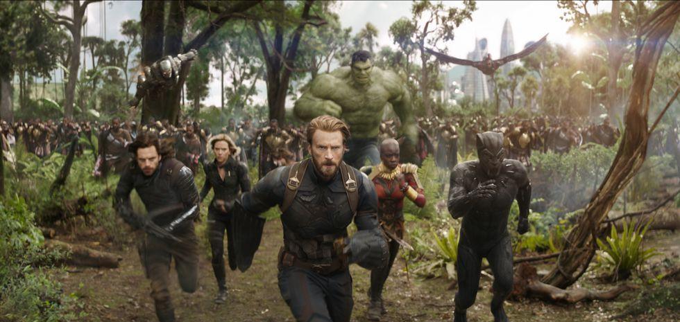 復仇者聯盟3,薩諾斯,鋼鐵人,美國隊長,黑豹,巴奇,黑寡婦,