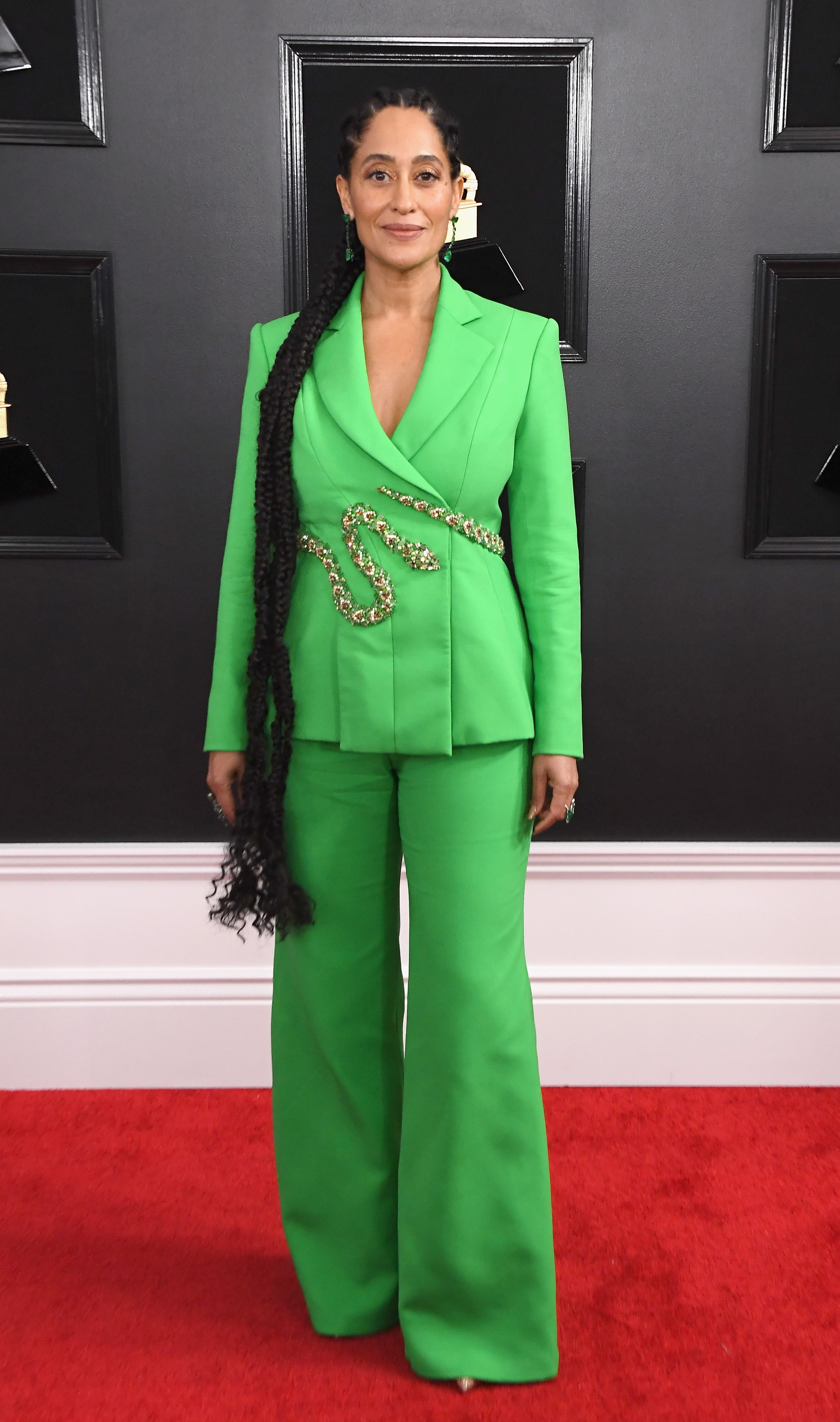 Tracee Ellis Ross coiffures protectrices
