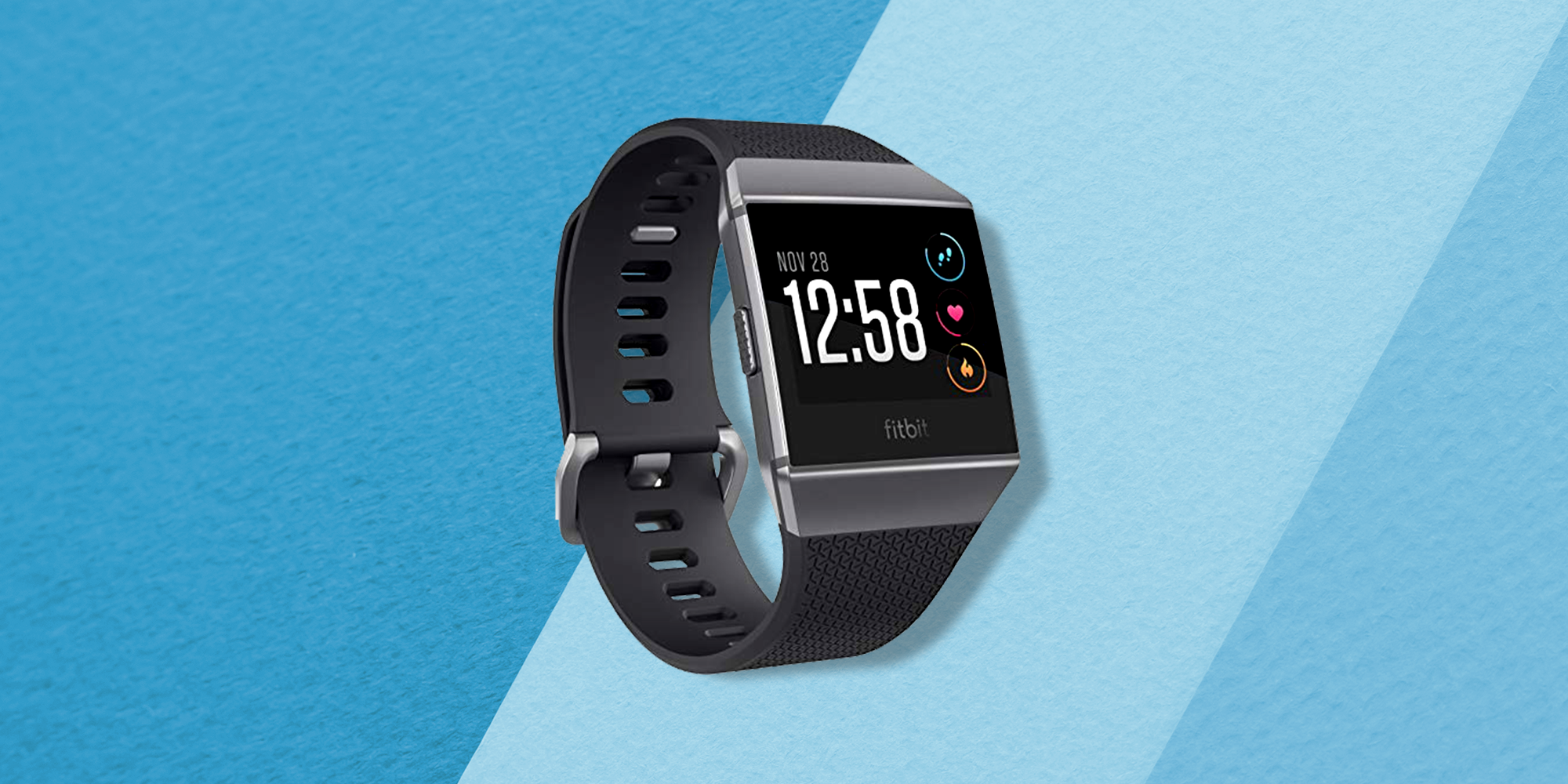 The FitBit Ionic Is On Sale For Its Lowest Price Ever On Amazon Right Now