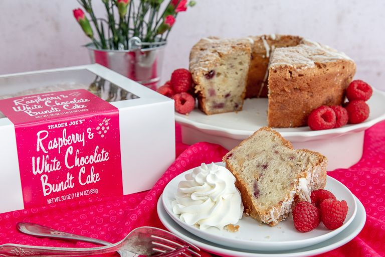 White Chocolate Raspberry Bundt Cake You Can Pair With a Glass of Sparkling Wine for Brunch