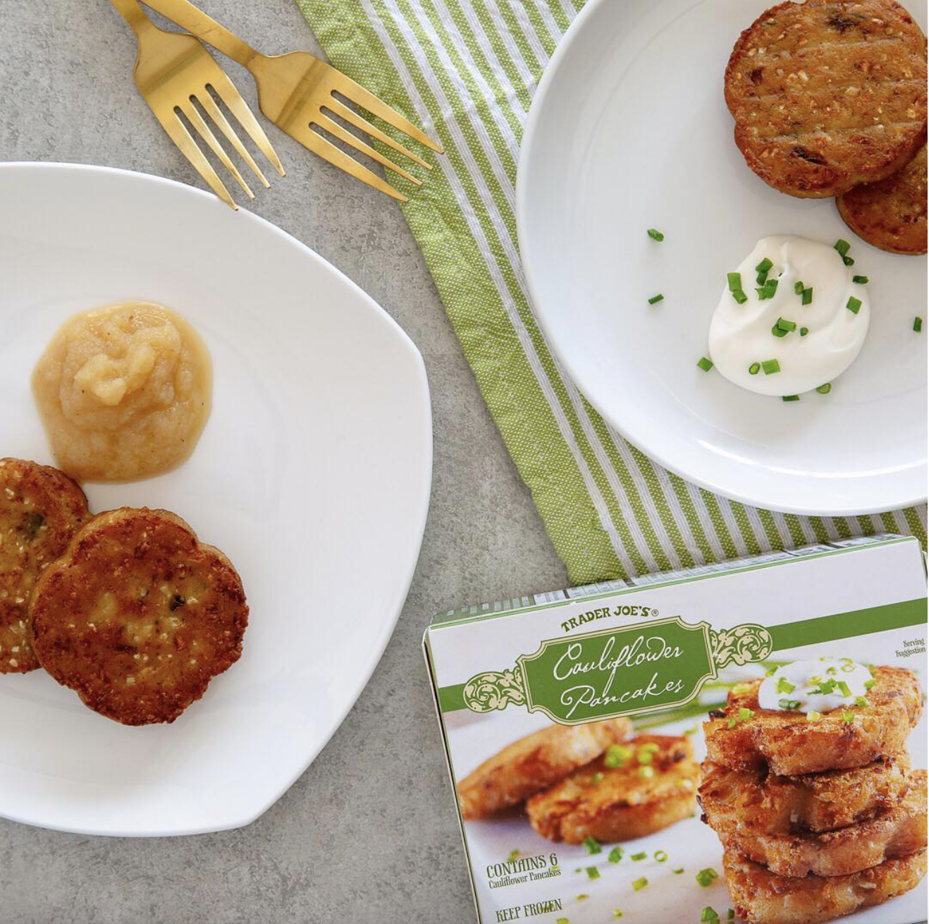 Trader Joe S Made Cauliflower Potato Pancakes Just In Time For