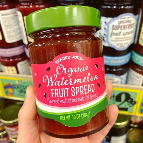 trader joe's organic watermelon fruit spread