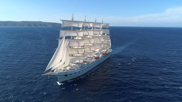sustainable cruise ship golden horizon