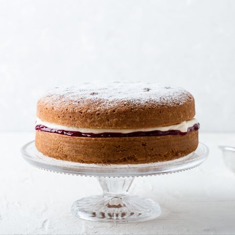 traditional british dishes classic victoria sandwich