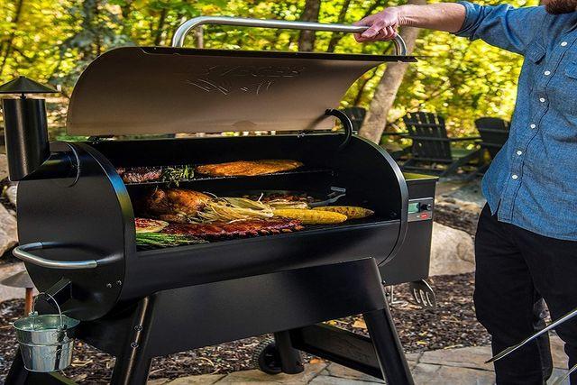 traeger pro 780 wood pellet grill