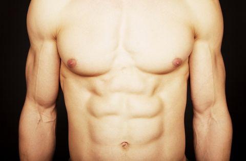 Barechested, Abdomen, Chest, Muscle, Skin, Trunk, Chin, Stomach, Jaw, Cheek,