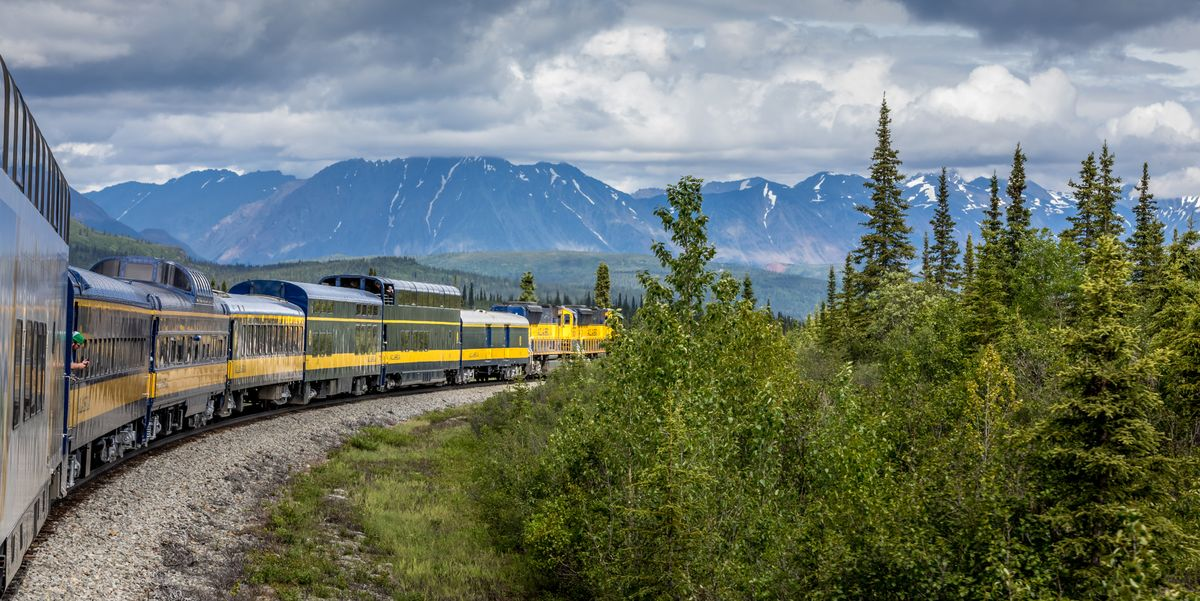 There's a Train in Alaska With Glass-Dome Ceilings — And Absolutely Breathtaking Views